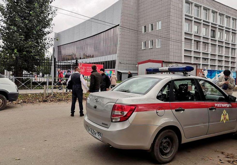 Eight killed in Russian university shooting, gunman in hospital: police