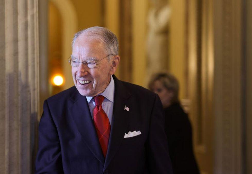 Republican US Senator Grassley, 88, to seek re-election in Iowa