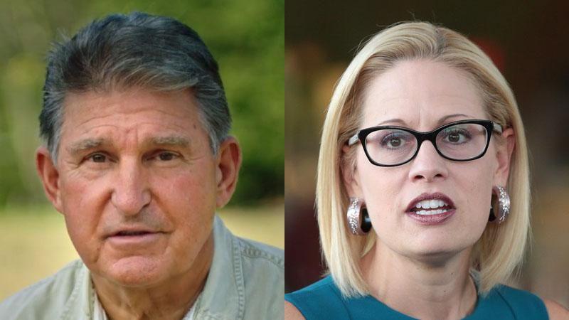 Manchin and Sinema finally feel the heat as Democrats battle over Biden's agenda