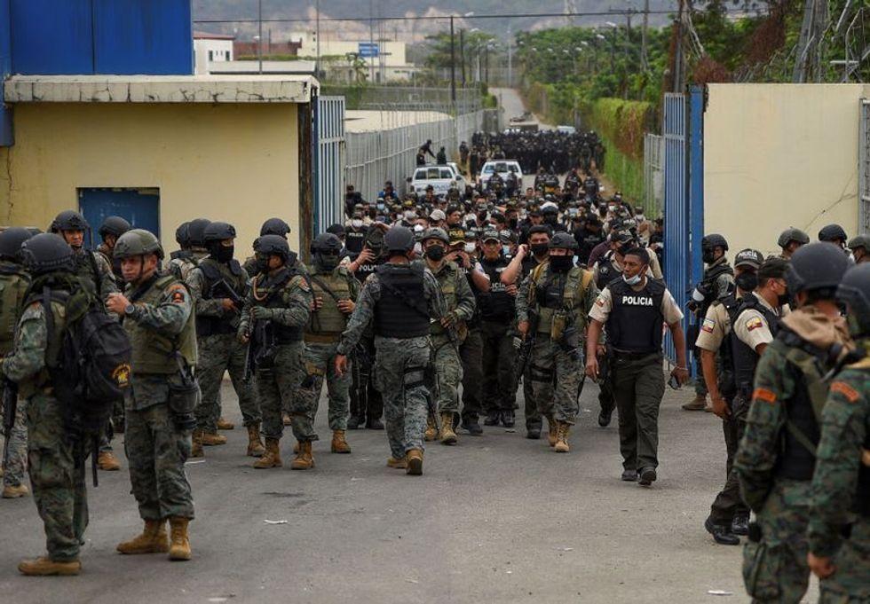 Ecuador police, military enter Guayaquil jail amid violence