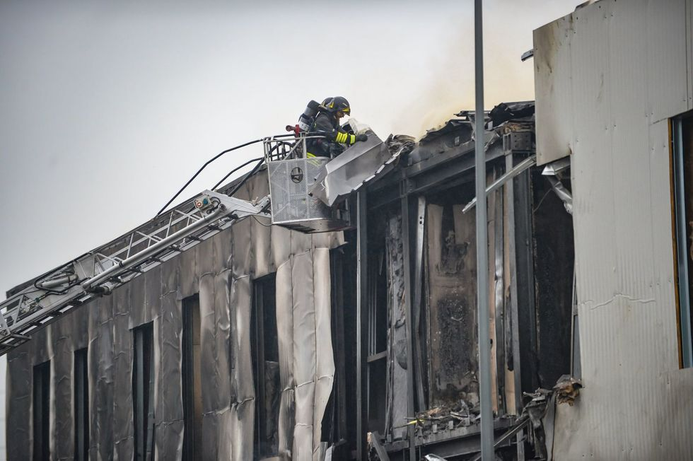 Reports: 8 dead as small plane crashes into building near Milan