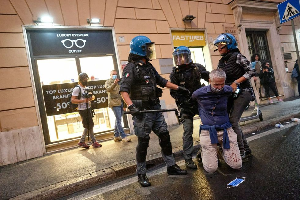 Rome police arrest 12 - including far-right leaders - after riots