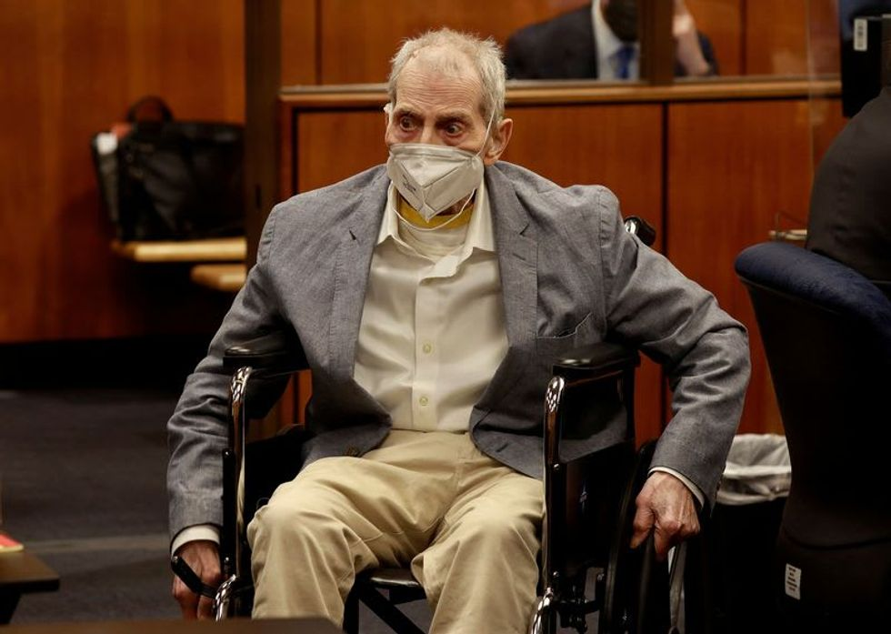 Judge expected to sentence real estate heir Robert Durst to life for California murder