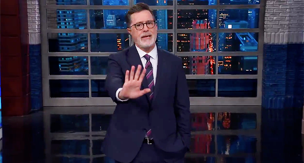 Stephen Colbert does a line-by-line takedown of every one of the Republicans defending Brett Kavanaugh
