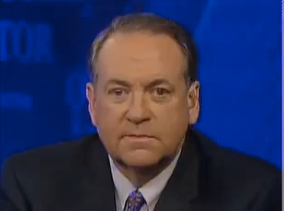 Mike Huckabee: How can Obama support same-sex marriage and call himself a Christian?