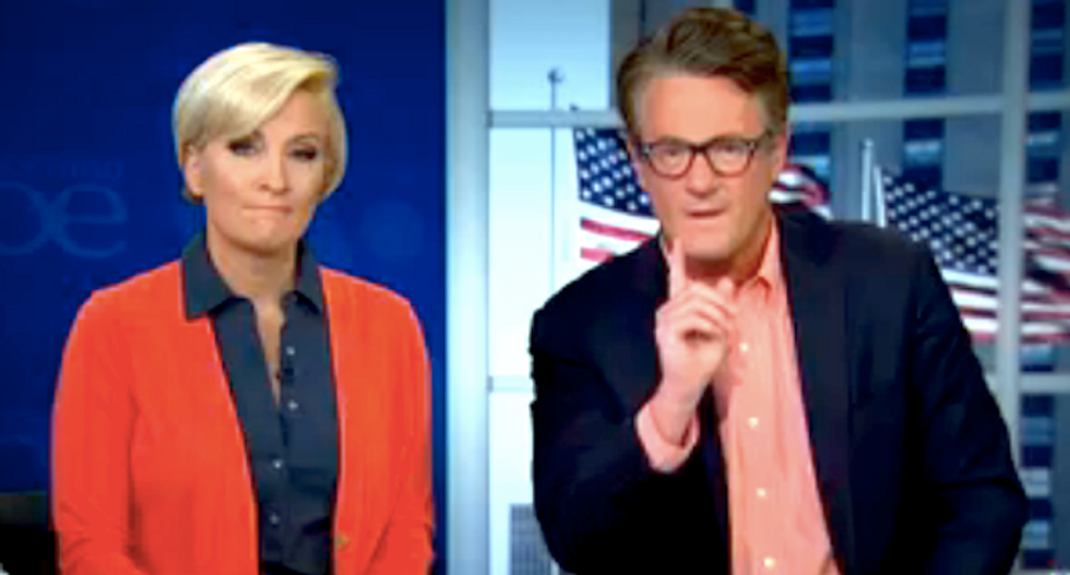 Joe Scarborough lashes out at 'lying' reporter who claimed he 'partied' with Trump on New Year's Eve