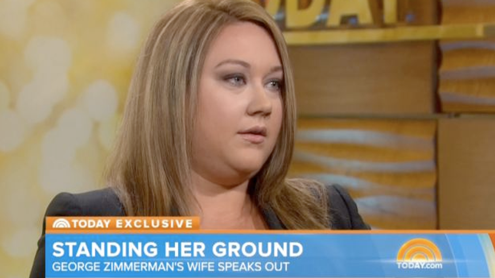 George Zimmerman's estranged wife reveals doubts about his innocence