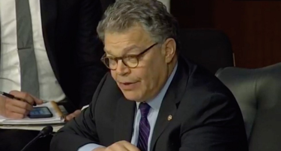Ex-GOP governor stuns with call for Franken to keep job after 'absence of anything resembling due process'