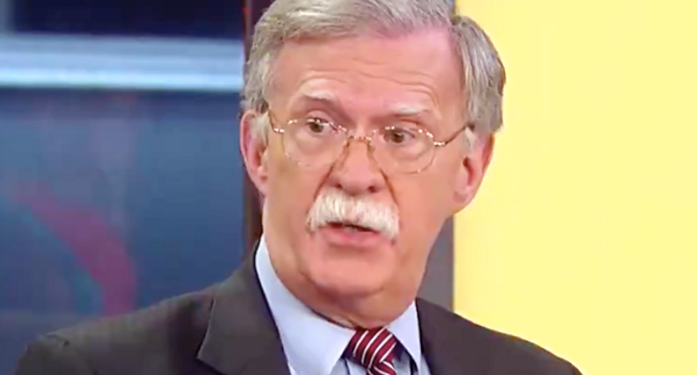 The White House is terrified about John Bolton's extensive notes: report