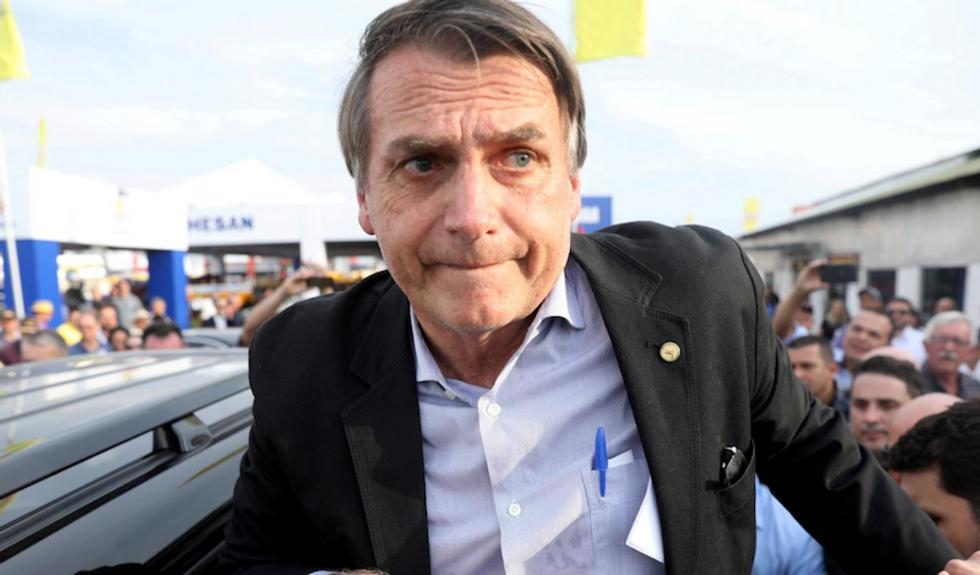 Far-right Bolsonaro rides anti-corruption rage to Brazil presidency