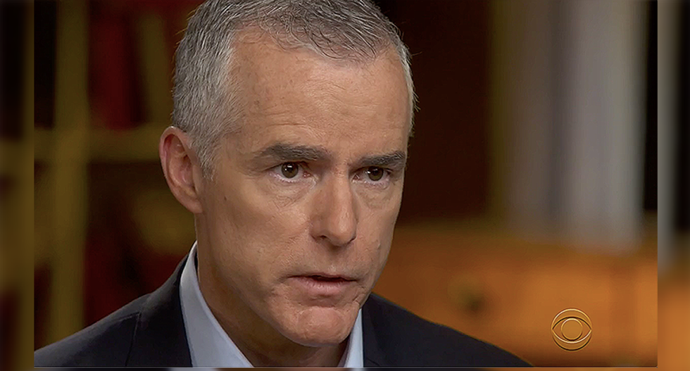 WATCH: Andrew McCabe rips the 'new low' by Republicans cowering to Donald Trump