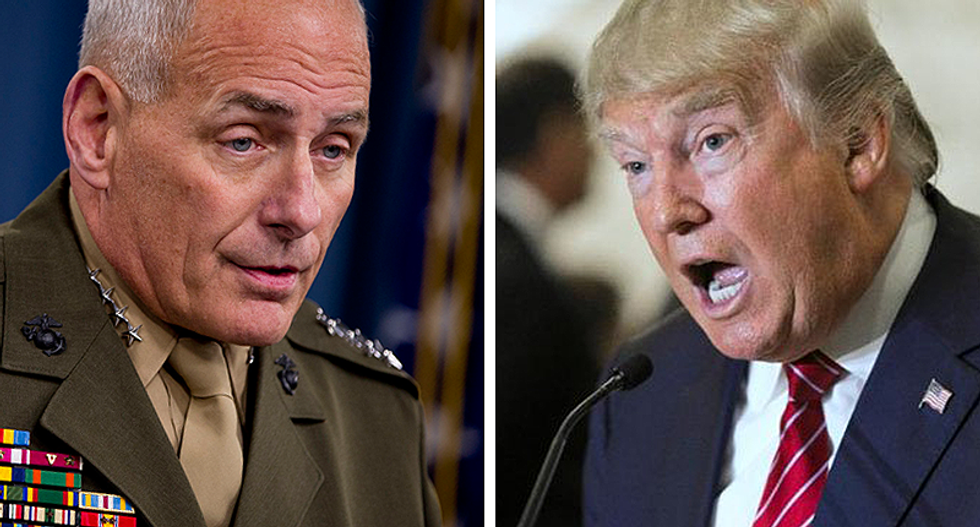 'He won't abide such treatment': Gen. Kelly said 'nobody has spoken to him' like Trump in his 35-year career