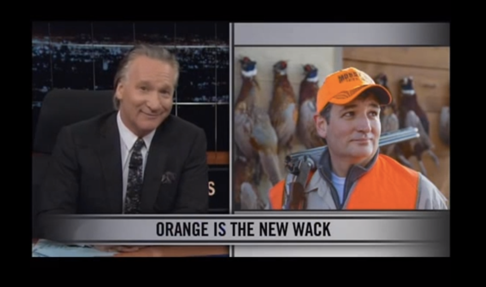 Maher's advice to GOP: Drop your guns and learn to love pot