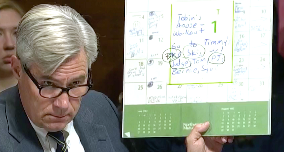 Sen. Sheldon Whitehouse vows to complete Kavanaugh rape investigations: 'Coverups never last'