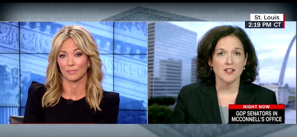 CNN's Brooke Baldwin corners former Kavanaugh clerk over his 'black out drunk' attack on Sen. Klobuchar