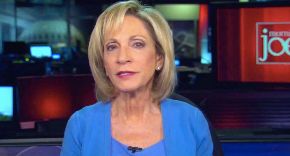 'Basically a lie about US intelligence': MSNBC's Andrea Mitchell is stunned by the newest White House statement