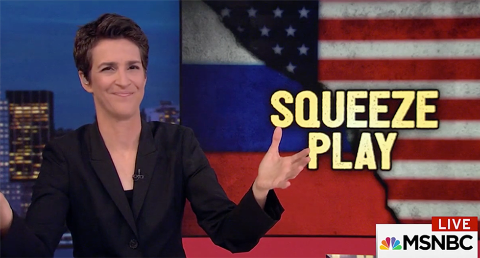 Maddow untangles Trump's Russia web all the way back to the 'unsexy' RNC convention