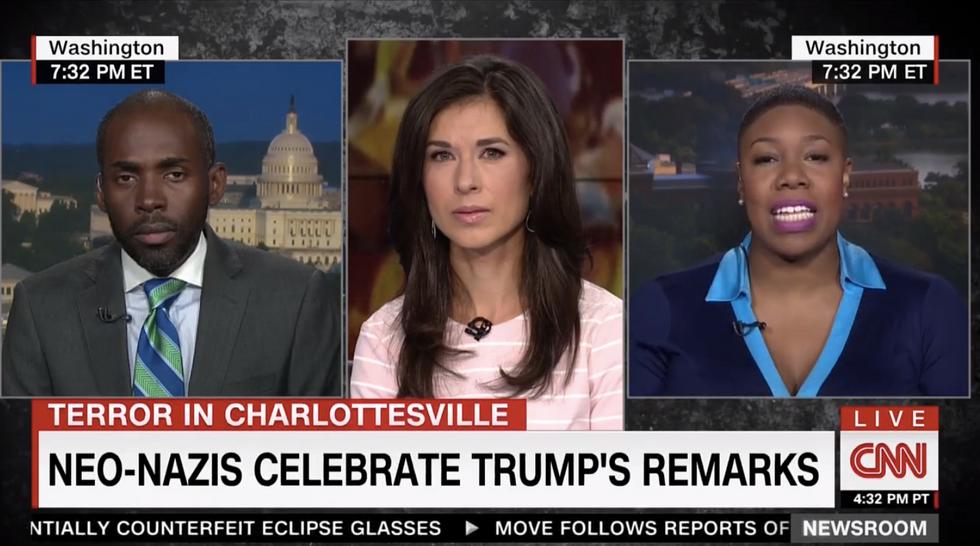 'Words matter': Dem strategist scorches Republican over Trump's tepid Charlottesville statement