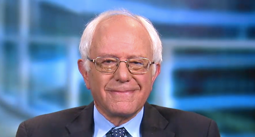 'On message as always': Sanders works his heart procedure into case for Medicare for All as #GetWellBernie trends