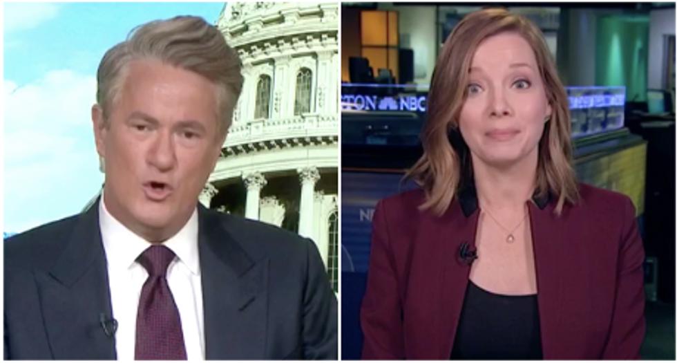 MSNBC's Morning Joe rains hell on Trump apologist for excusing president's violent rhetoric