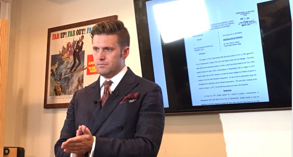 White nationalist Richard Spencer taunts counter-protesters: 'We could have killed them with our bare hands'