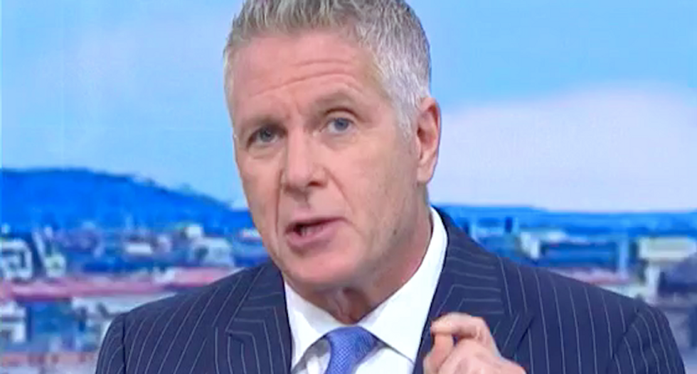 MSNBC's Donny Deutsch rips Trump's 'sociopathic' decision to hold 'pep rally' while Hurricane Michael raged