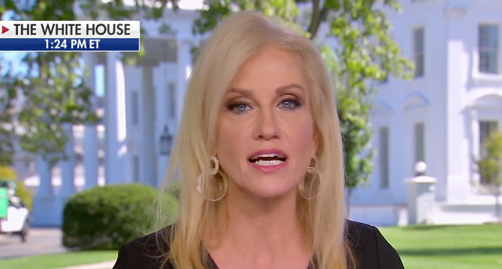 'It's just the haters': Kellyanne Conway brushes off criticism that Trump is politicizing soldiers' deaths