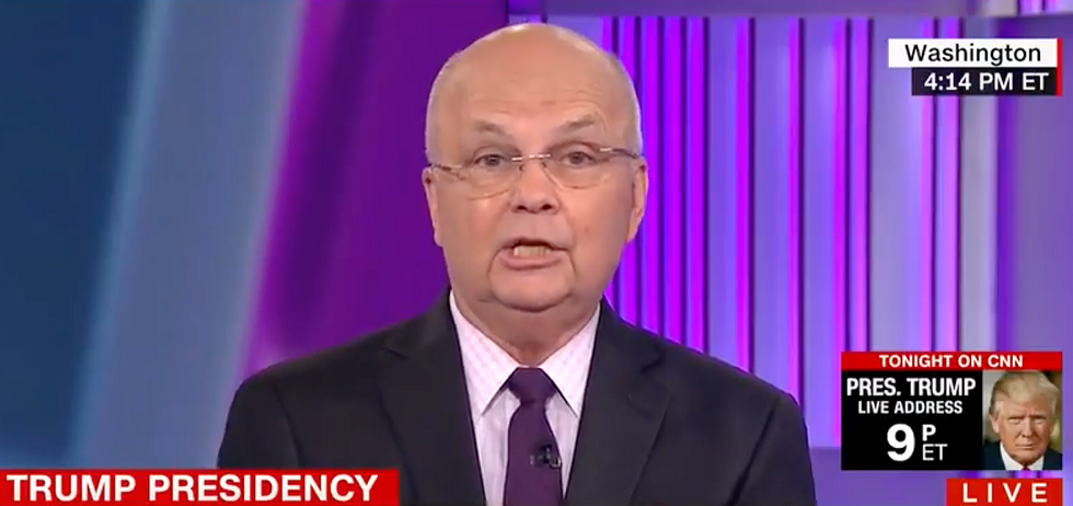 'A decision Obama would've made': Gen. Hayden nails Trump for 'embracing' prior administration's Afghan policy