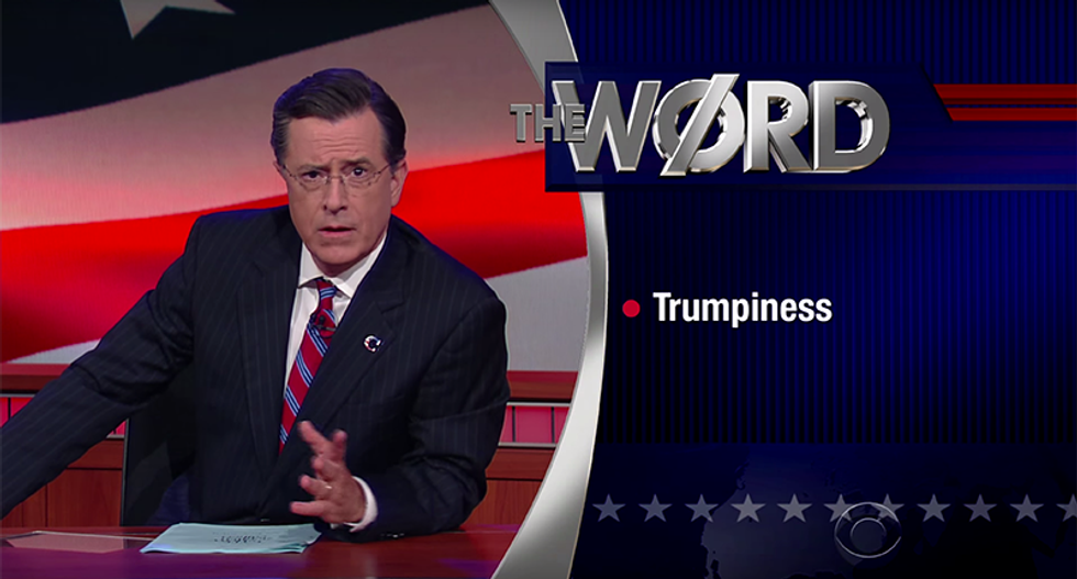Stephen Colbert revives his GOP character to hilariously mock Trump — and it's perfect