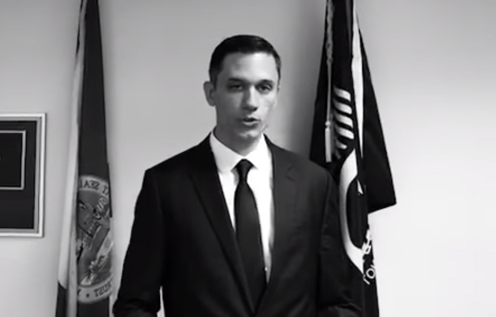 WATCH: Avowed eugenicist uses Charlottesville as a springboard for US Senate run