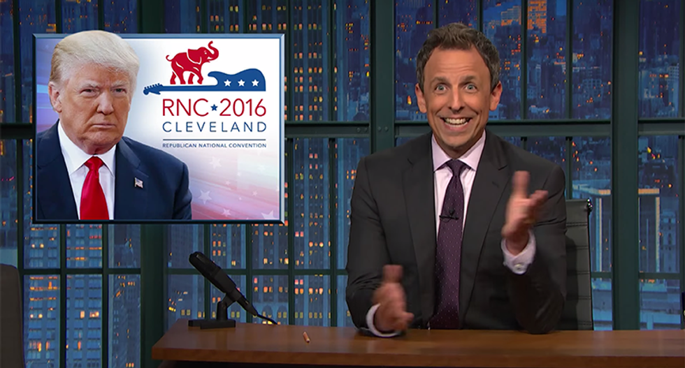 Seth Meyers destroys Trump over 'dumb' plagiarism: He actually doesn't 'hire the best people'