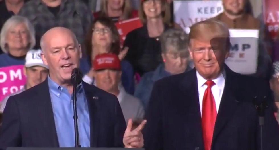 Ex-Cruz aide blasts Trump for 'bodyslam' praise: Maybe I like 'people that bodyslam the president'