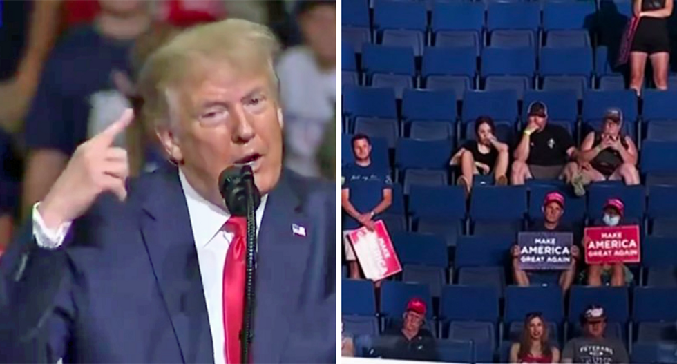 Trump may end his campaign rallies out of fear of 'empty seats' as coronavirus scares away his supporters: report