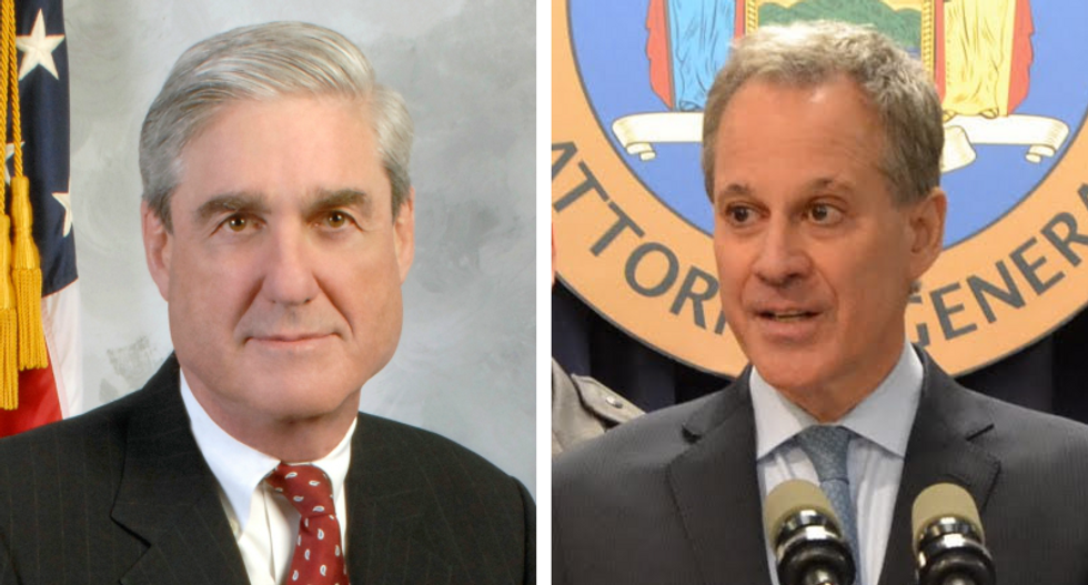 Mueller and NY AG Schneiderman teaming up on Mike Flynn as Turkey hangs him out to dry
