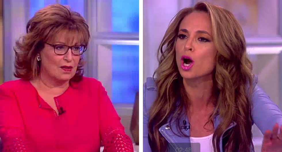 'Oh please!': The View erupts over Mike Pence's refusal to dine alone with women who aren't his wife