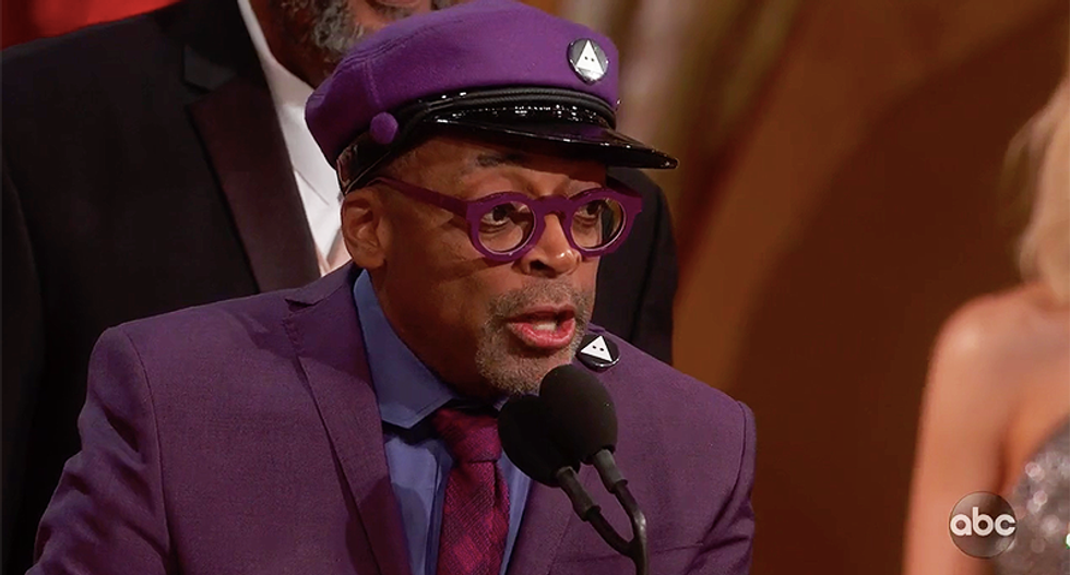 Spike Lee gave the perfect smackdown of Donald Trump without even saying his name