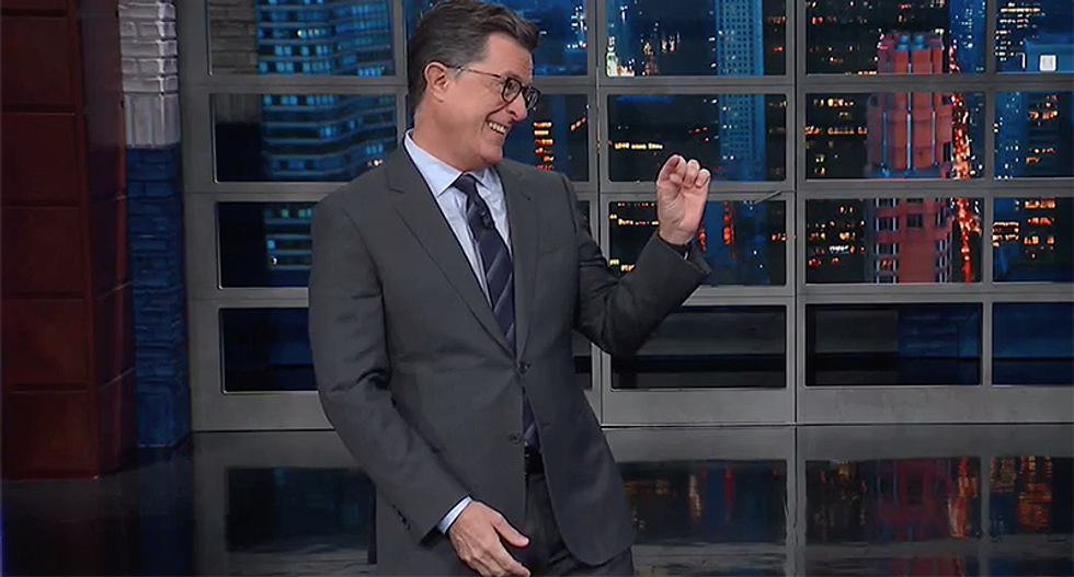 I rather have Putin than President Nuts: Colbert jokes that people like Trump less after the Mueller report