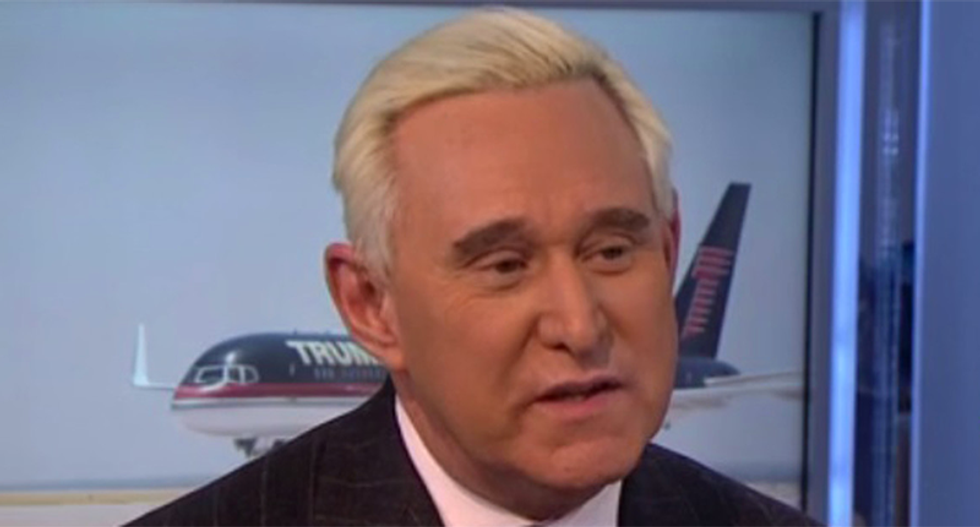 Trump ally Roger Stone suspended from Twitter after misogynist meltdown -- and he's still whining about it