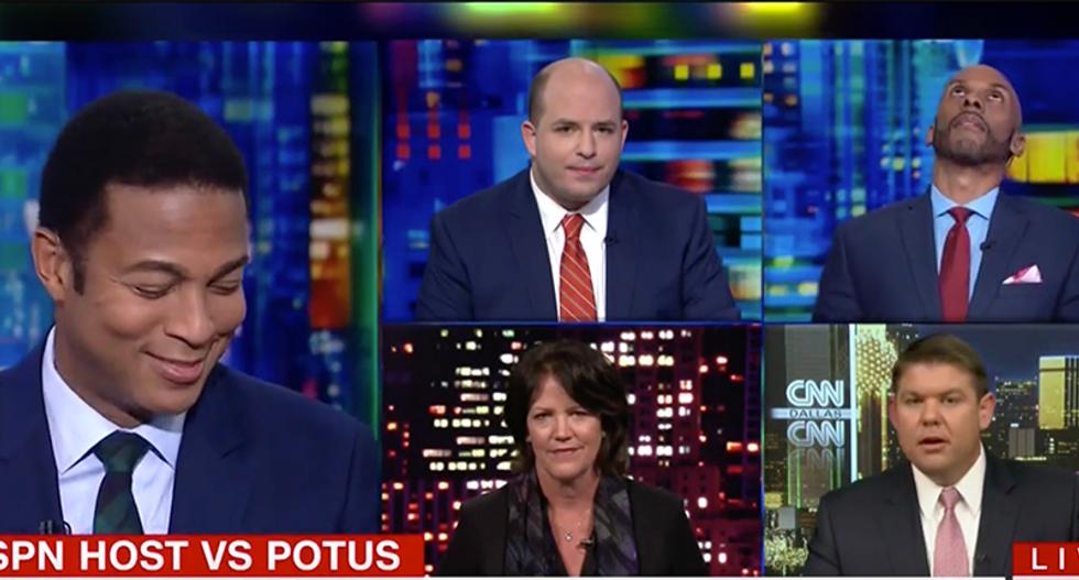 Don Lemon gobsmacked at Ben Ferguson's hypocrisy on Trump's past 'racist' accusations