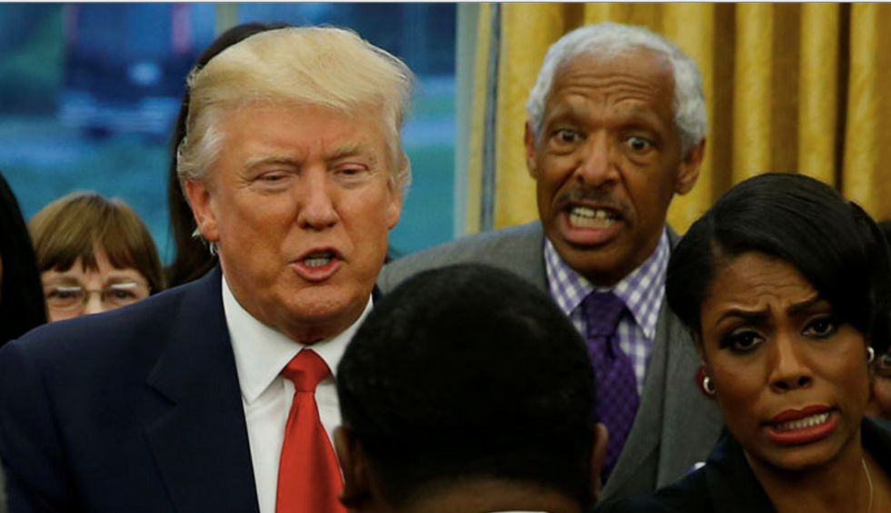 Trump broke his promises to black education leaders -- and gave them Omarosa as a consolation