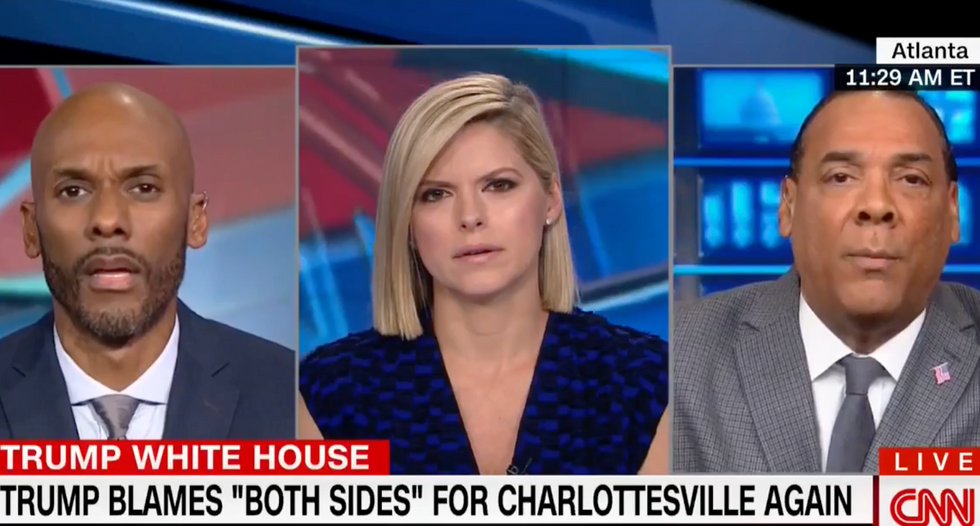 'Don't be a hypocrite like your president': Ex-White House aide shuts down Trump booster over Charlottesville