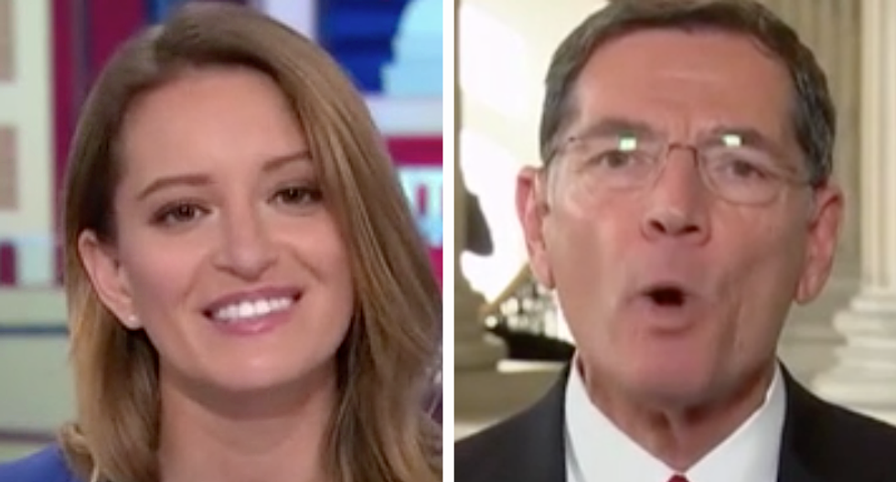 WATCH: Katy Tur corners GOP senator over Obamacare repeal in 'painful' MSNBC interview
