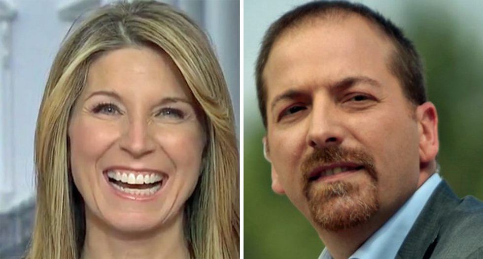 MSNBC's 'demotion' of 'feckless' Chuck Todd celebrated: 'Hurray! More Nicolle, less Chuck'
