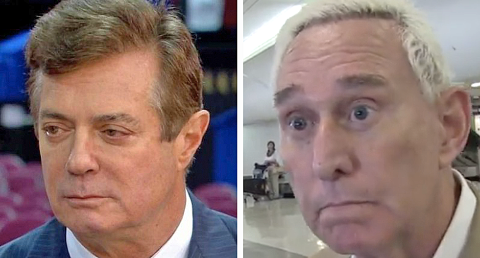 WATCH: Ex-Trump campaign manager hopes Roger Stone and Paul Manafort 'go to jail' if they colluded with Russia