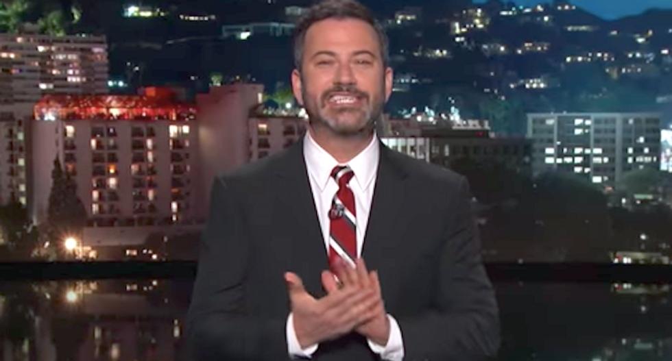 Jimmy Kimmel shreds Fox host Brian Kilmeade as 'phony little creep' over health care comments