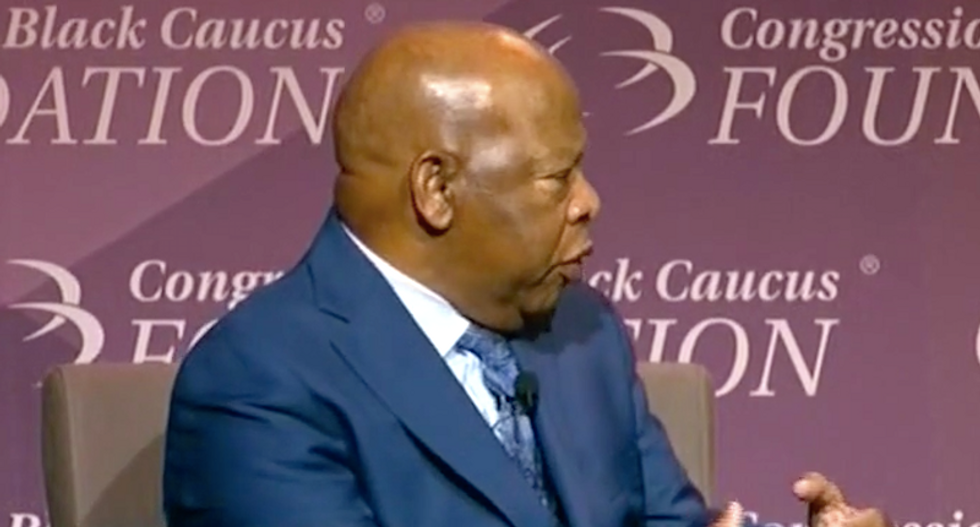 John Lewis blames Trump for open racism: 'He made it comfortable for people to put on their hoods'