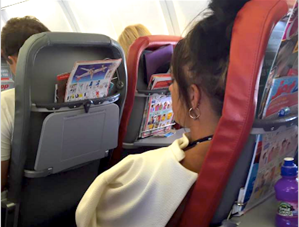 Mother of disabled girl shames air passenger who shouted 'Shut that child up!' at her family
