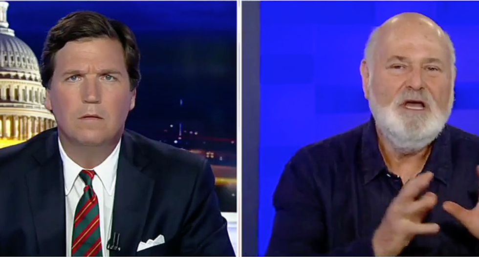 WATCH: Rob Reiner smacks down Tucker Carlson for belittling importance of Russia's election meddling