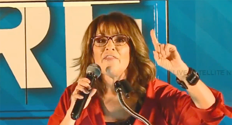 Sarah Palin barnstorms Alabama: 'Roy Moore was deplorable before it was cool to be deplorable'