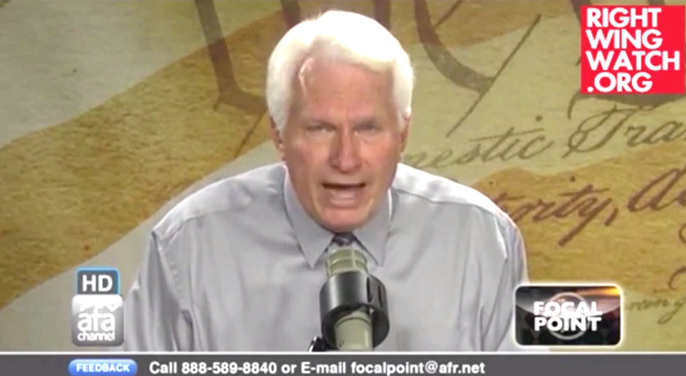 Bryan Fischer: 'Freedom of Religion' in US is only a choice of which Christian church to join